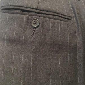 Charcoal Pinstripe Flare Dress Pants 32L